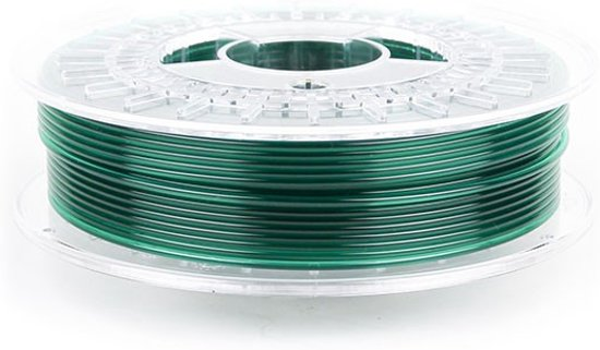 PLA TR GREEN  TRANSPARENT 1.75 / 750