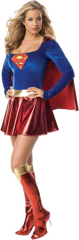 Supergirl - Carnavalskleding - Maat S - Rood