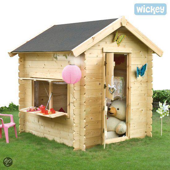 Prince park speelhuis for Houten tuinkast intratuin