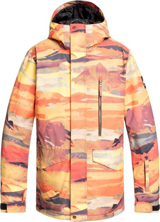 bol.com | Quiksilver Mission Heren Ski jas - Barn Red ...