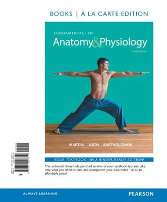 bol.com | Fundamentals of Anatomy & Physiology, Books a la Carte ...