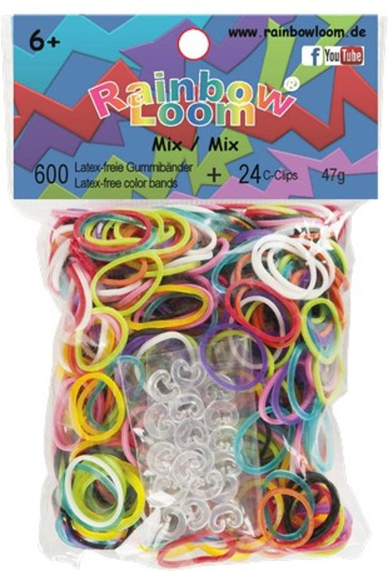 Rainbow Loom Mix