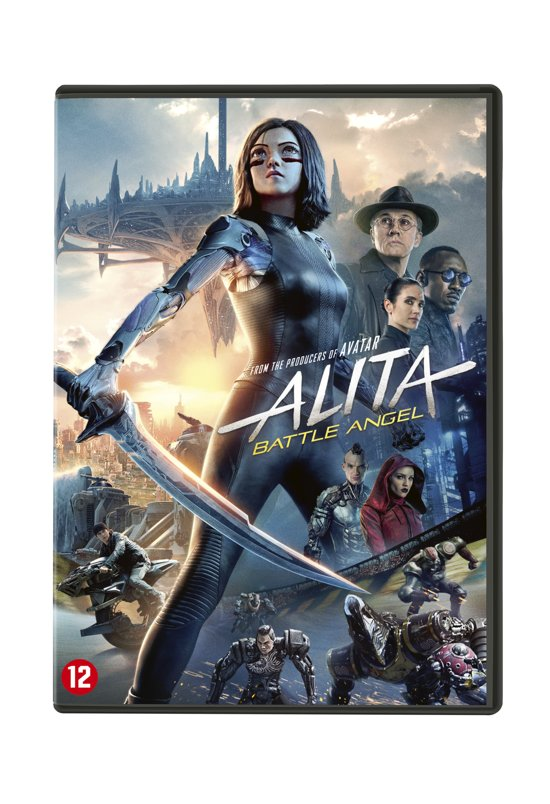 DVD cover van Alita: Battle Angel