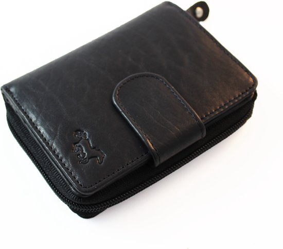 e470ebd2cb1 Safekeepers art. 1107 Compact Design Portemonnee - RFID SKIMM Protected -  Zwart