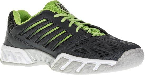 K-Swiss Bigshot Light 3 Carpet  Tennisschoenen - Maat 44 - Mannen - grijs/groen