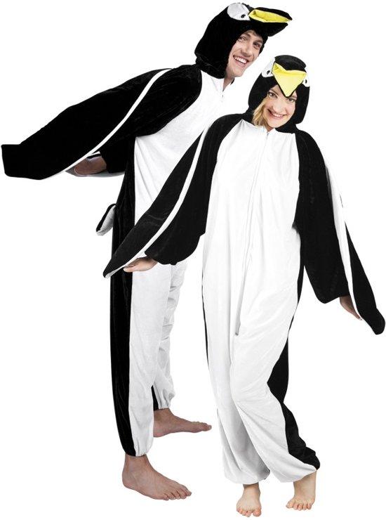 Onesie Volwassenenkostuum - Pluche Pinguïn - Kostuum - Maat XL