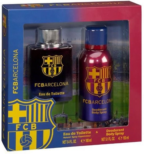 FC Barcelona set - Eau de Toilette 100 ml + Deodorant 150 ml