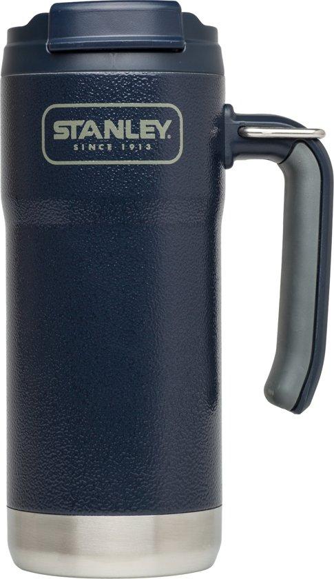 Stanley Adventure Vacuum Travel Mug Thermosbeker - 473 ml - RVS - Hammertone Navy