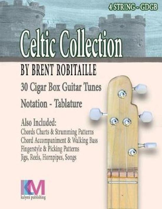 Bol Celtic Collection 4 String Cigar Box Guitar