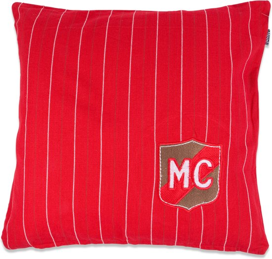 In The Mood Mc Embleem - Sierkussen - 50x50 cm - Rood