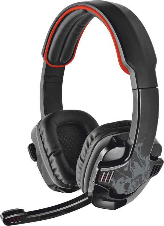 Trust GXT 340 - 7.1 Surround On-ear Gaming Headset - PC