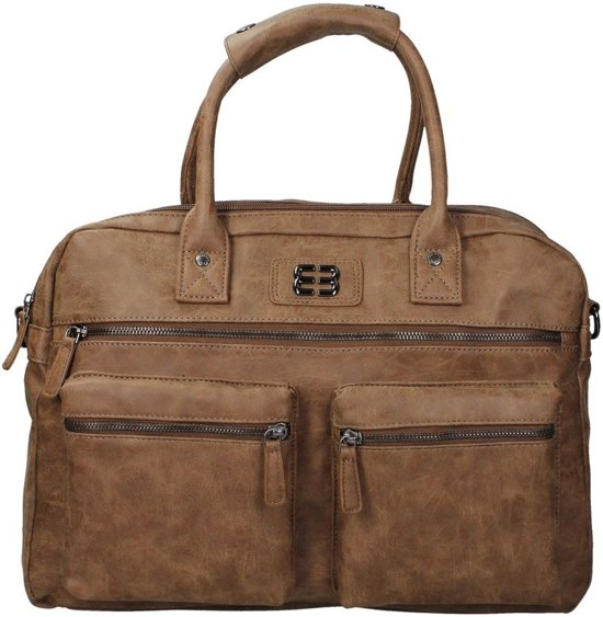 dd5fc727be6 bol.com | Enrico Benetti Dijon - Handtas 54527 - Midden bruin