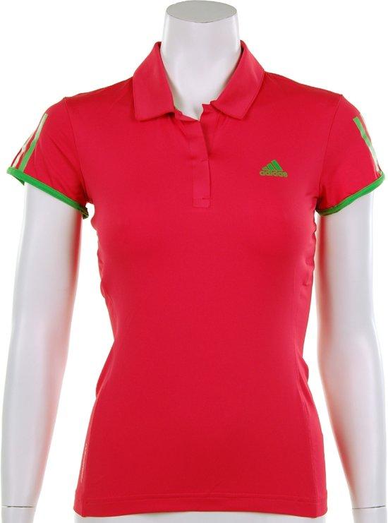 679f97342c8 adidas Women's Barricade Cap Polo - Sportpolo - Dames - Maat 36 - Fresh  Pink;