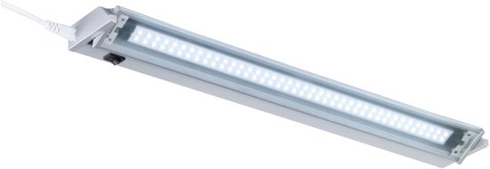 trio serie 2205 onderbouwverlichting 1x57w 6100k aluminium led wipschakelaar 220515587