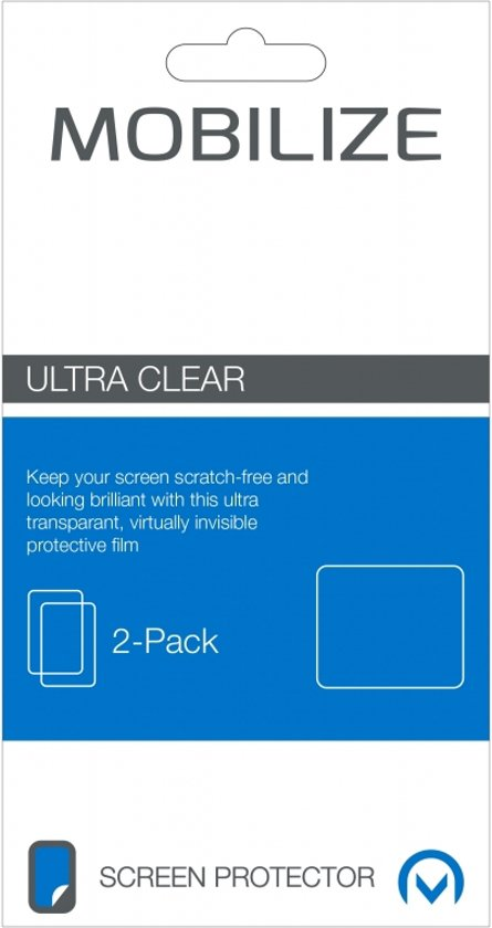 Mobilize Clear 2-pack Screen Protector Samsung Galaxy J1 2016
