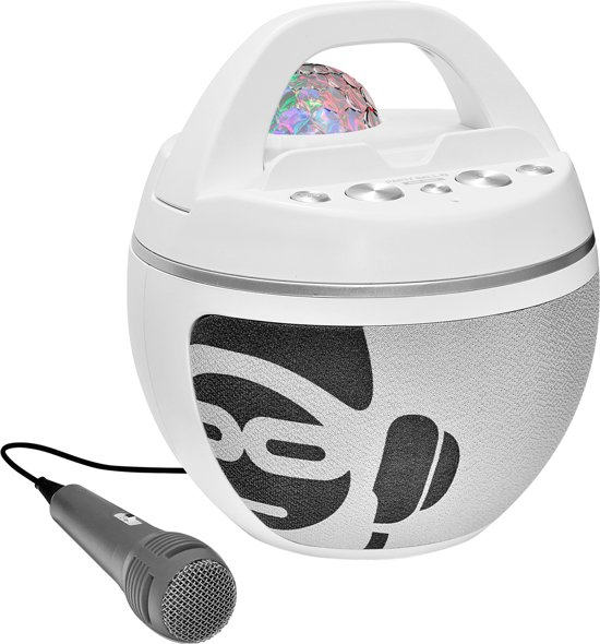iDance Audio Party Ball BB10K Wit
