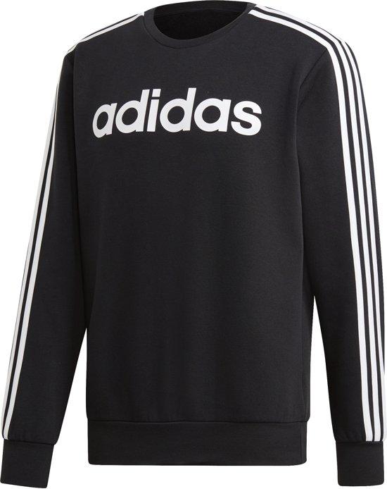 Adidas Adidas Essentials 3-Stripes Sweater Zwart Heren