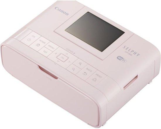 Canon SELPHY CP1300 - Draadloze Fotoprinter / Roze