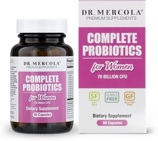 Complete Probiotics for Women (70 Billion CFU) (30 Capsules) - Dr. Mercola