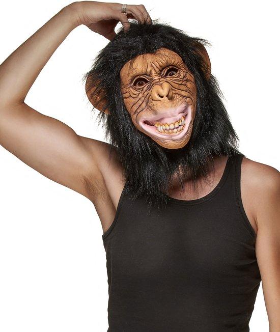 """""""Integraal apen masker voor volwassenen - Verkleedmasker - One size"""""""
