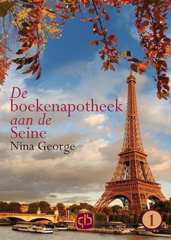 De boekenapotheek aan de Seine grote letter uitgave