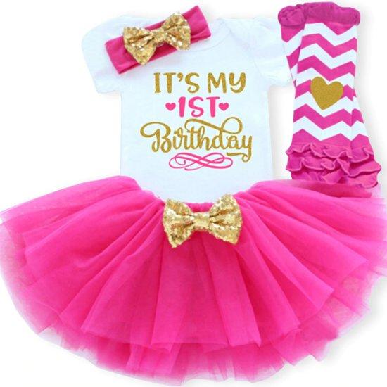 d735a93498611b Eerste verjaardags- tutu jurkje meisje