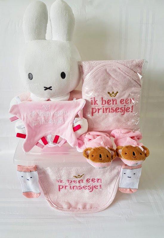 Prinsesje geboren met 12artikkelen + Geborduurde artikkelen