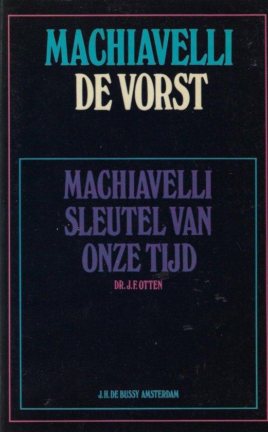 Bolcom Vorst Niccolò Machiavelli 9789060547168 Boeken