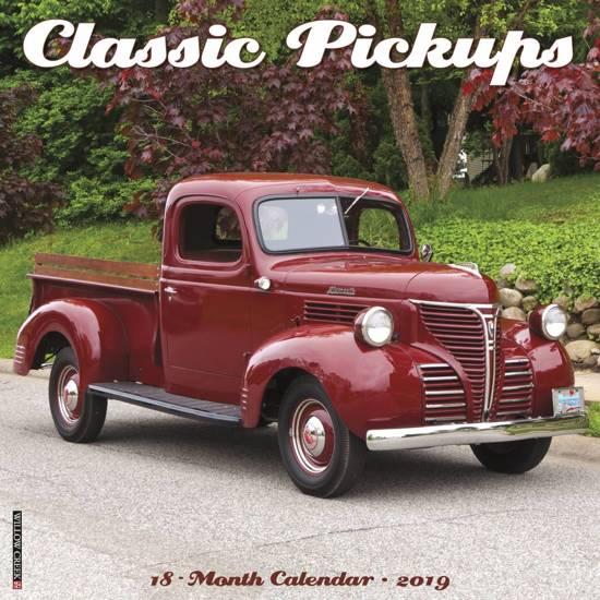 Classic Pickups 2019 Kalender