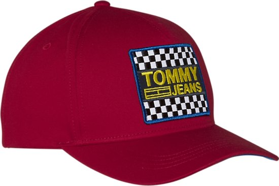 1ad6902a5 bol.com | Tommy Hilfiger - TJM Big Logo Patch Cap - Tommy Red