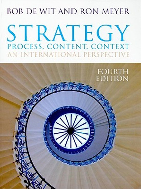 strategy process content context an international perspective 4th edition case studies honda Currently in its fourth edition 14 marketing communications and the process of exchange 1/7 52 context – strategy and marketing communications 5/2.