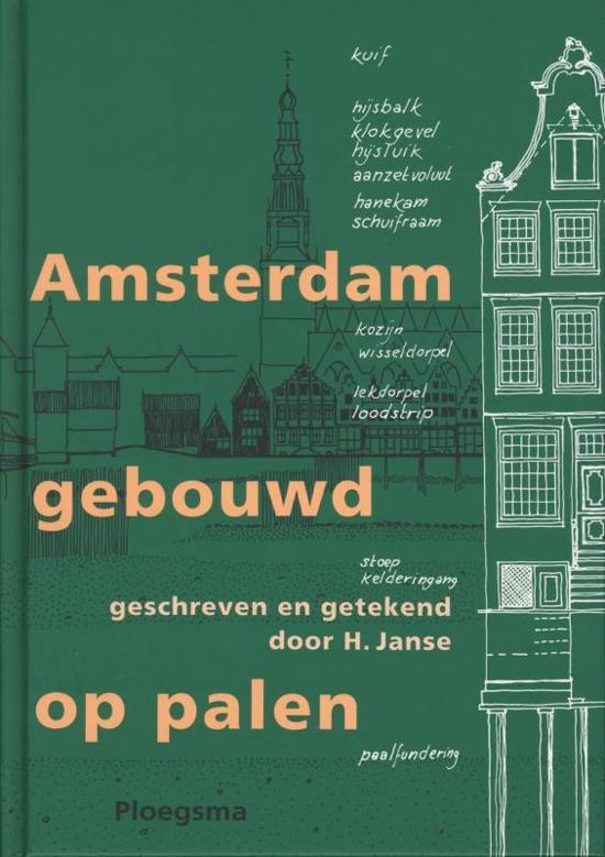 Amsterdam gebouwd op palen