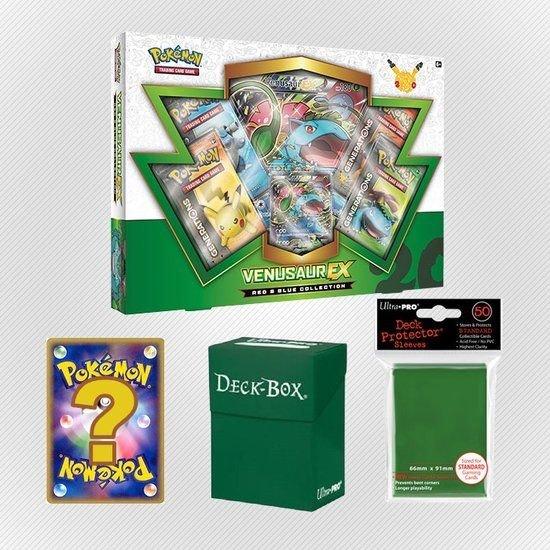 Afbeelding van het spel Pokemon kaarten TCG - Venusaur EX - Green Set