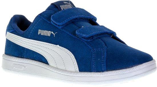 35dd1cce627 Puma Smash Fun SD Velcro PS Sportschoenen - Maat 30 - Unisex - blauw/wit
