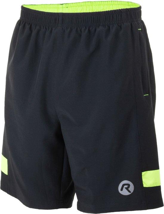 Rogelli Sportbroek - Maat XL  - Mannen - zwart/geel