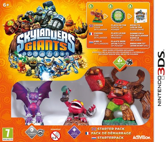 Skylanders Giants: Starter Pack - 3DS