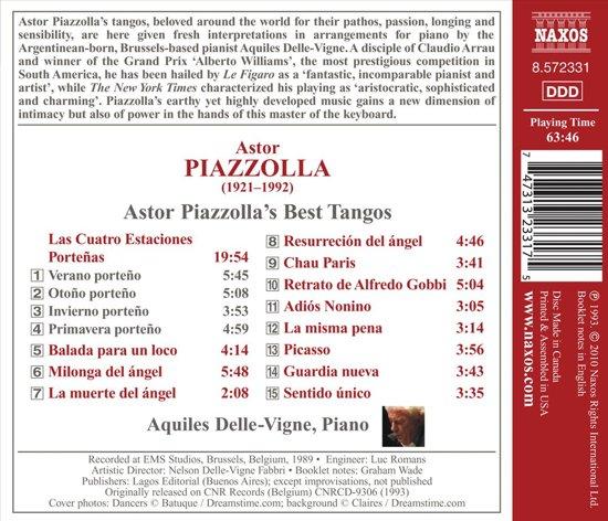 Aquiles Delle-Vigne - Tangos