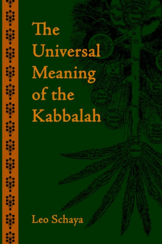 bol com | The Universal Meaning of the Kabbalah