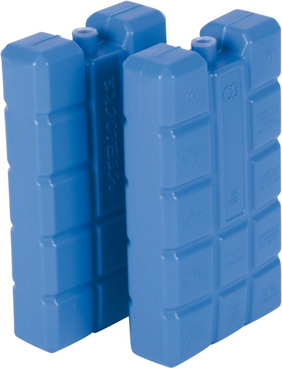 Koelelementen - 2 Stuks - 15,2x8,2x2,1 cm - Blauw