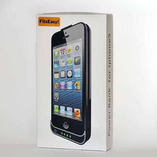 Apple iPhone 5/5S Power case Zwart