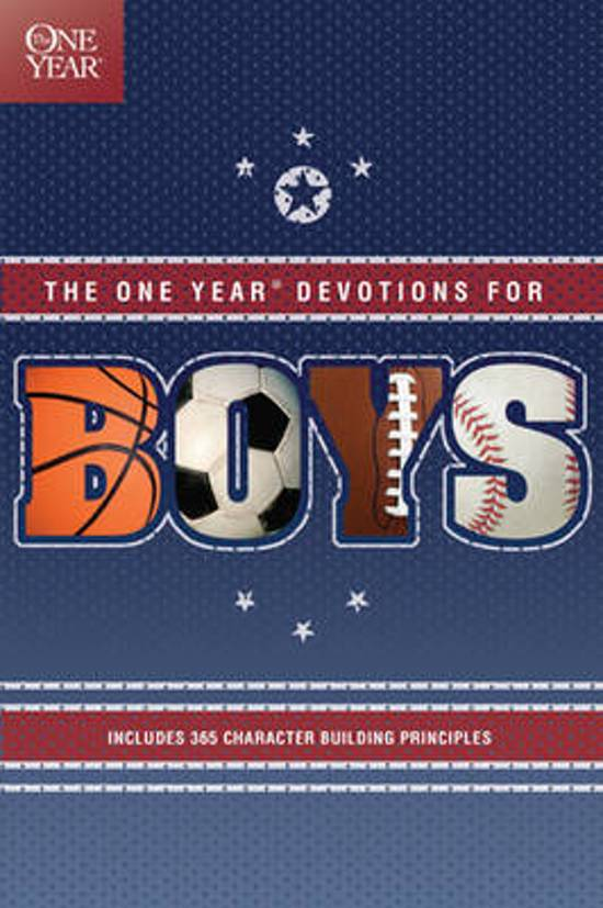 Bol Com One Year Book Of Devotions For Boys Children S border=