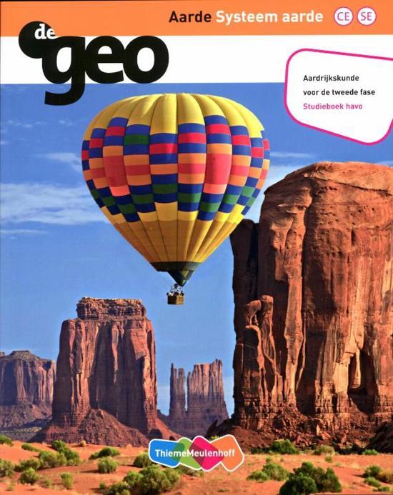 De Geo De Geo Aarde Systeem aarde Studieboek Havo