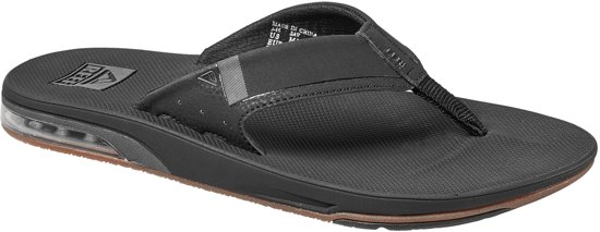 Flesopener Low Fanning Heren Black Slippers Met Reef tqgEwYn