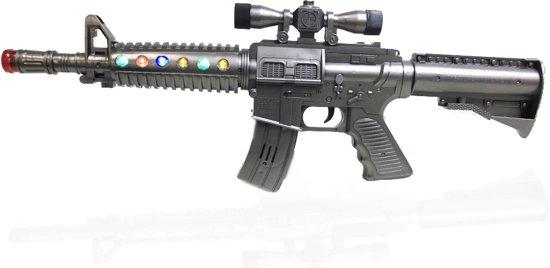 speelgoed geweer met geluid