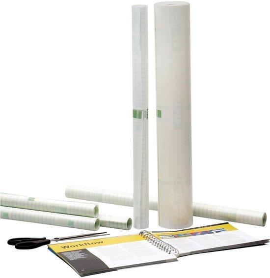 31x Apli zelfklevende plastic op rollen 1,5 mx0,5 m (50 micron)
