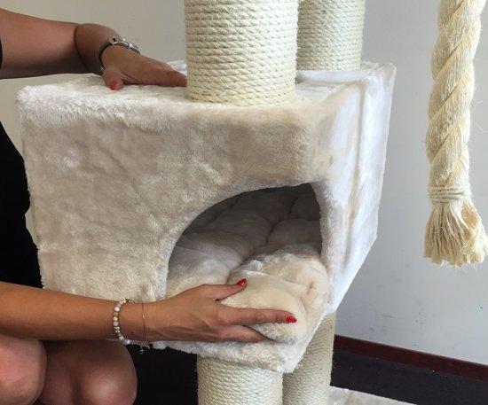 Krabpaal Catdream de Luxe Creme voor grote katten