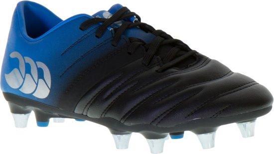 Canterbury Phoenix 2.0 SG Rugby Schoenen Heren Sportschoenen - Maat 40 - Mannen - zwart/blauw
