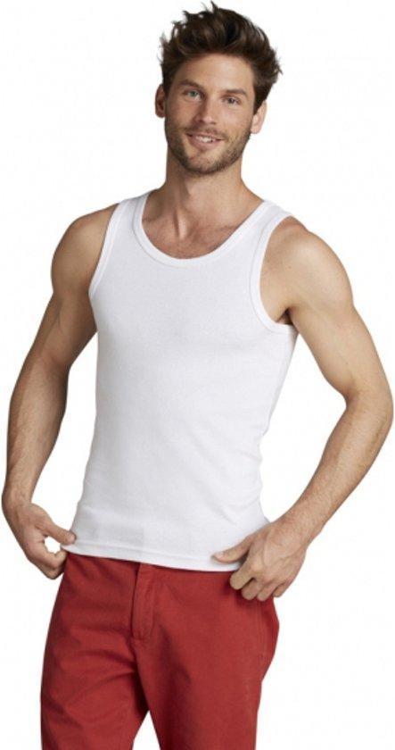 802a14d0 bol.com   Wit Mojito heren t-shirt zonder mouwen M