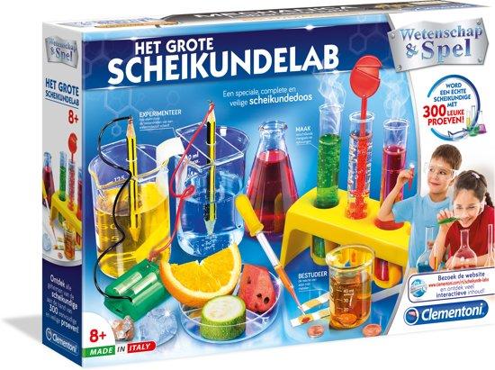 Afbeelding van Het Grote Scheikundelab - Wetenschap & Spel speelgoed
