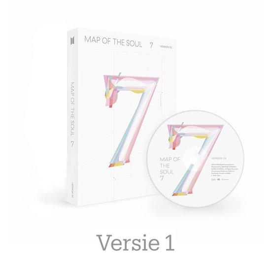 CD cover van MAP OF THE SOUL: 7 - Versie 1 van BTS